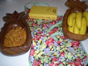 Wooden Pineapple's