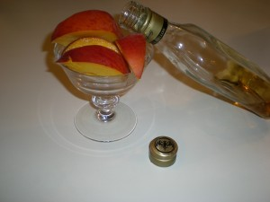 Peaches and Vodka