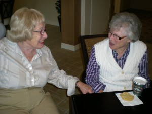 My fav gossip girls. Granny Marnie and MIL Ru