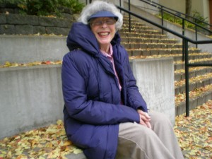 My MIL Ru enjoying FALL